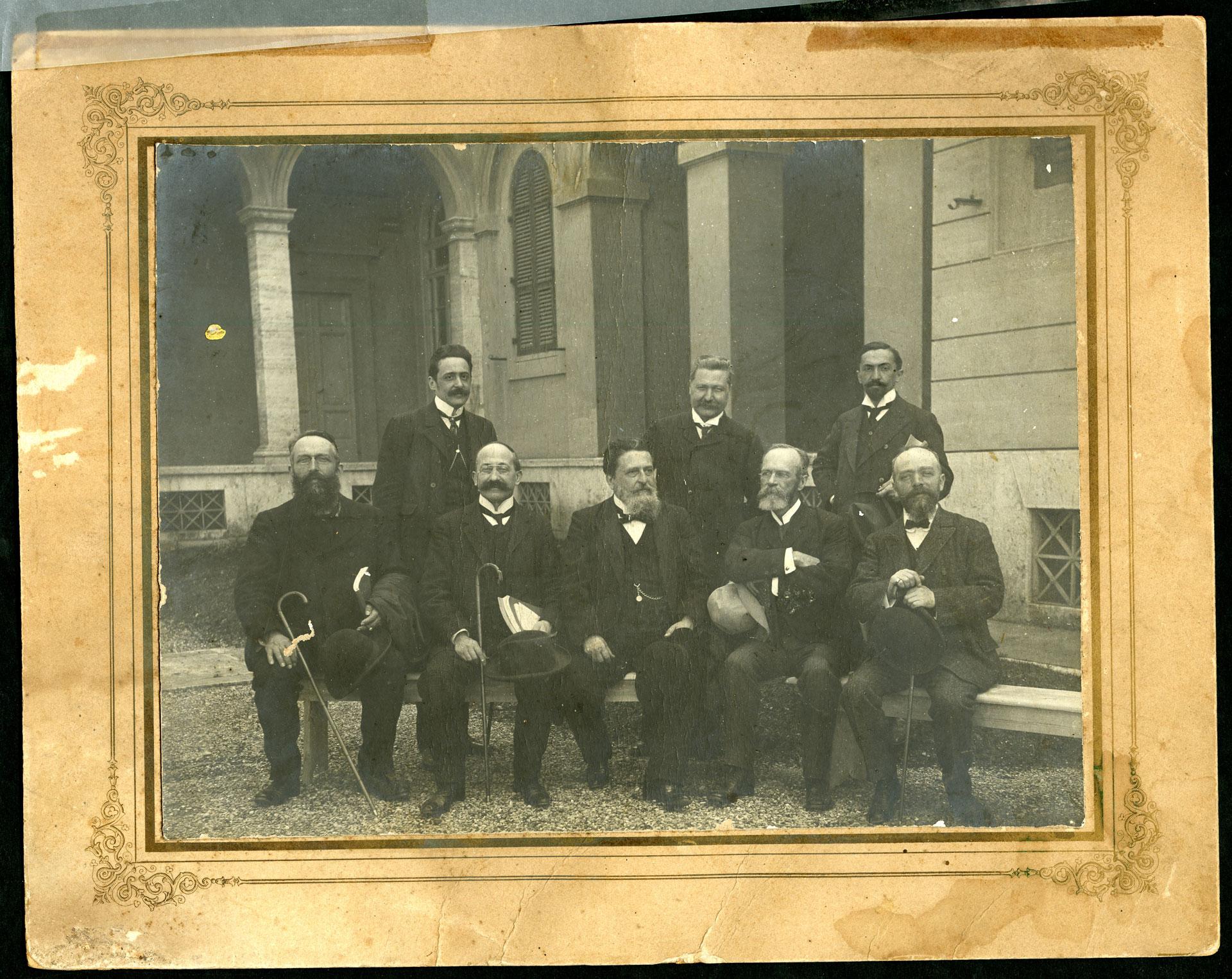 Psicologi, foto di gruppo, s.d.