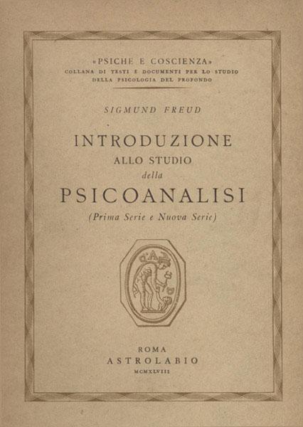 Freud, Introduzione allo studio della psicoanalisi