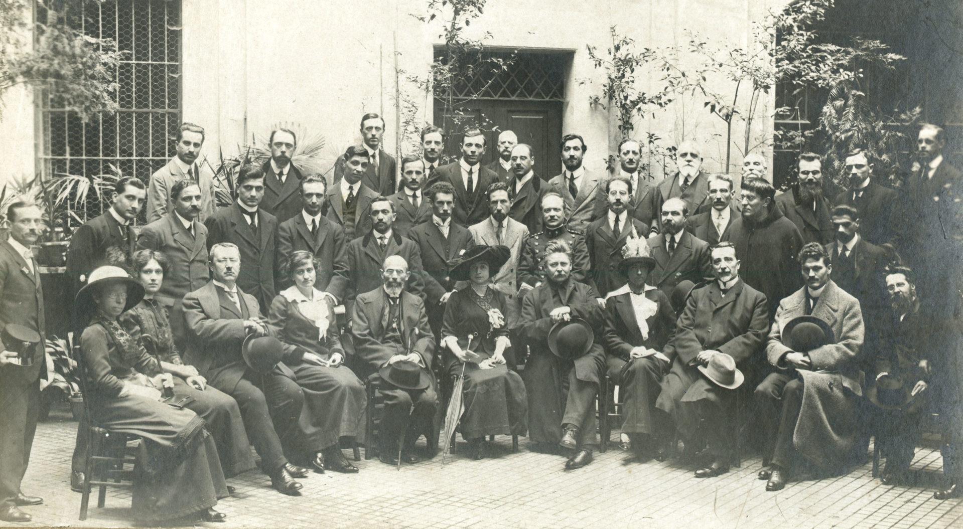 Psicologi a congresso nei primi anni Dieci del Novecento