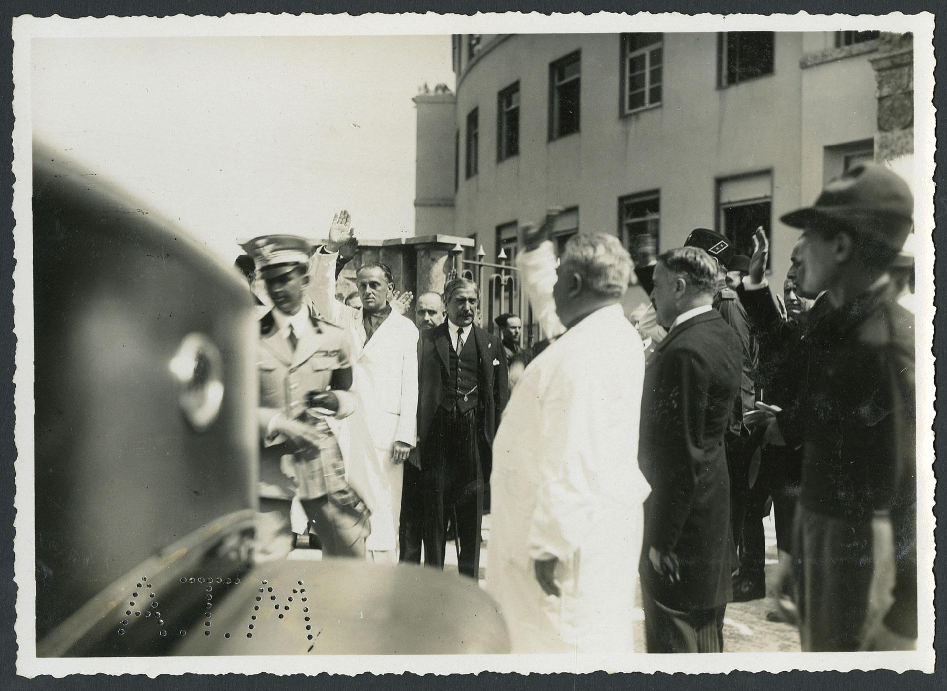 Visita di Umberto di Savoia Principe di Piemonte all'Ospedale XXVIII ottobre di Milano, 24 giugno 1934