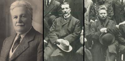 Cesare Colucci, Sante De Sanctis e Federico Kiesow