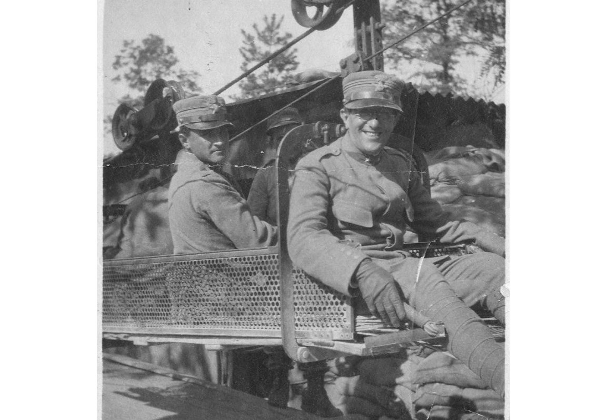 Padre Agostino Gemelli militare durante la Grande guerra